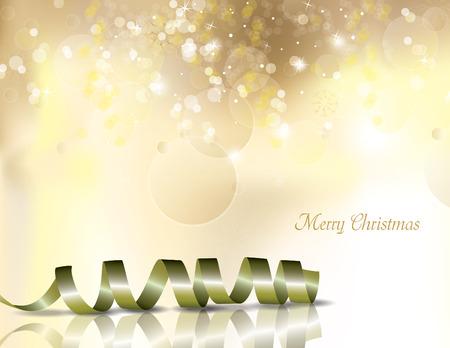 festive background: Christmas Background. Vector Illustration.