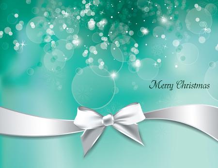 turquiose: Christmas Background. Vector Illustration.