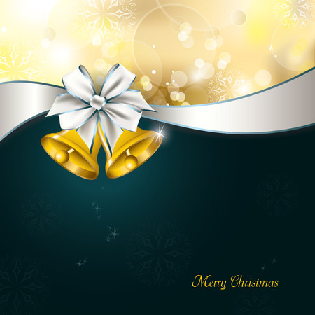 Christmas Background. Vector Greeting Card. Vector