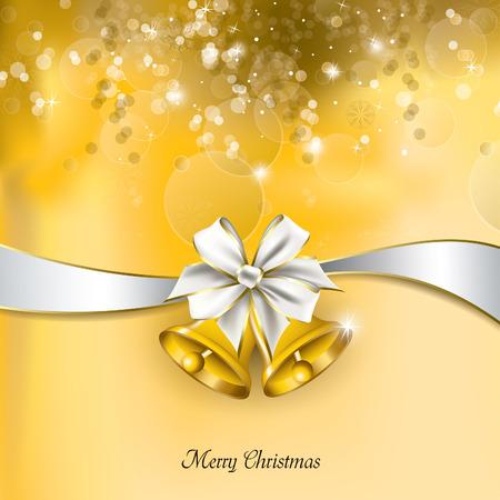 postcard background: Christmas Background. Greeting Card. Illustration