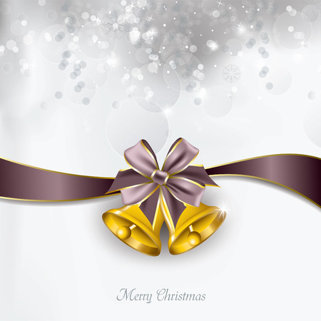greeting: Christmas Background. Greeting Card. Illustration