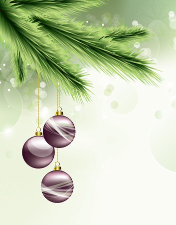 Christmas Background. Greeting Card. Banco de Imagens - 34430016