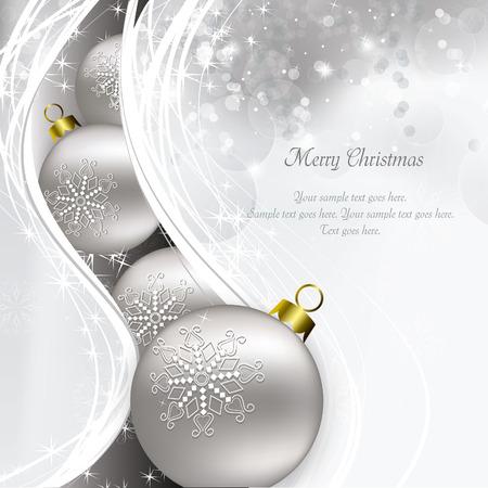 Fondo de la Navidad. Tarjeta de felicitación. Foto de archivo - 34429997