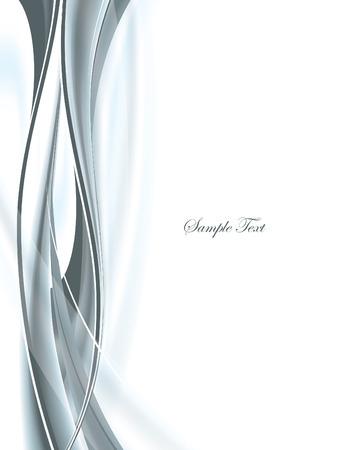 Abstract Vector Wavy Background. 일러스트