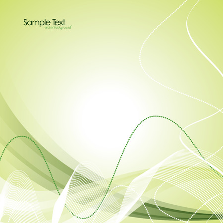 Abstract Vector Wavy Background. Vettoriali