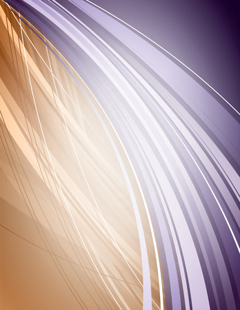 Abstract Vector Background with Wavy Lines.