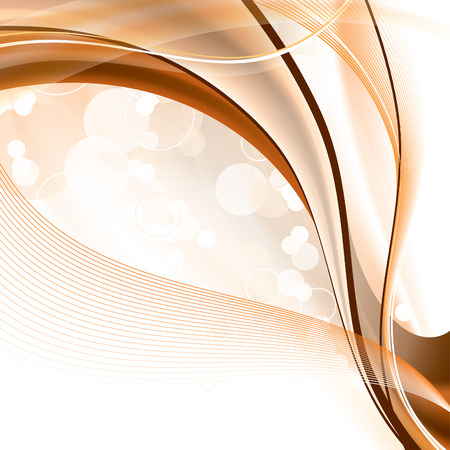 brown: Abstract Vector Background with Wavy Elements.