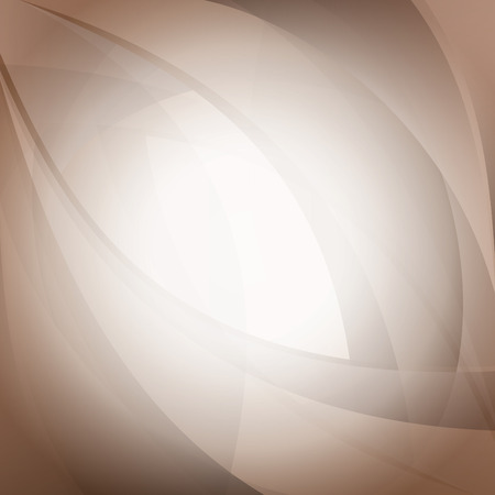beige: Abstract Wavy Illustration.