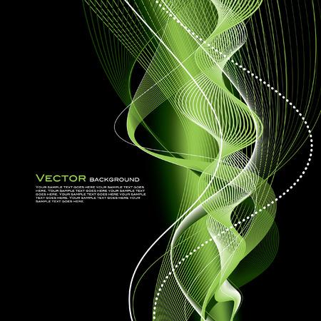 mesh: Abstract Wavy Illustration.
