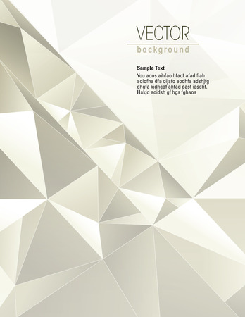 abstract illustration: Sfondo 3D. Abstract Illustrazione.