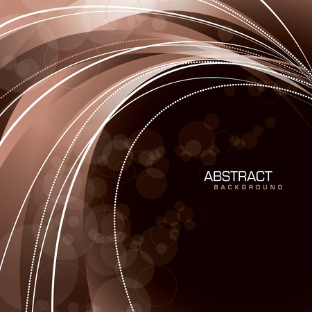 bright: Wavy Background. Abstract Vector Illustration. Illustration
