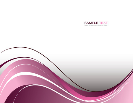 pink swirl: Abstract Background. Illustration