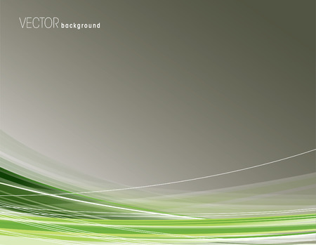 green swirl: Vector Background. Illustration