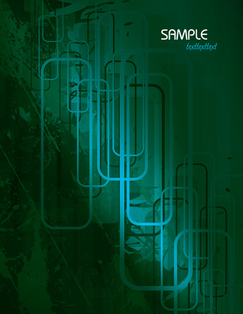corrode: Turquoise Vector Abstract Background.
