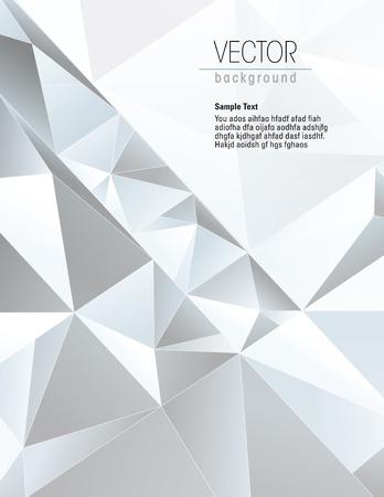 eps10 vector: 3d Geometric Blue Background. Vector Illustration. Illustration