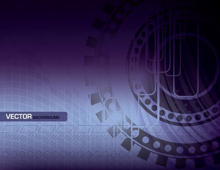 Purple Vector Abstract Background. Vector