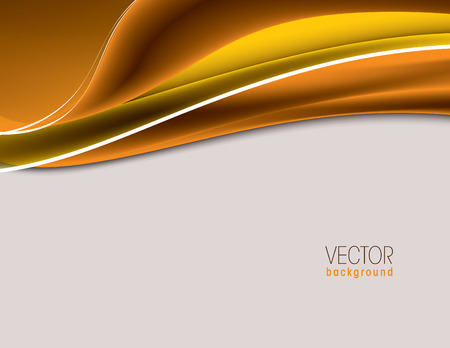 yellow vector: Colorful Vector Wavy Background.