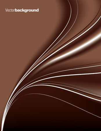 brown: Abstract brown background with wavy lines.