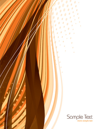 ornage: Ornage Abstract Vector Background.