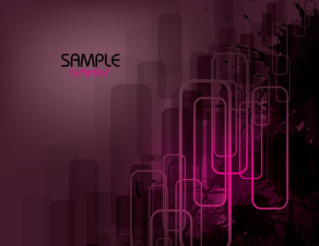 corrode: Purple Vector Abstract Background.
