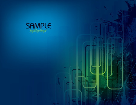 Blue Vector Abstract Background. Vector
