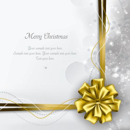 christmas greeting card: Christmas Background. Greeting Card. Illustration