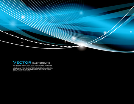 blue design: Abstract Vector Background. Illustration