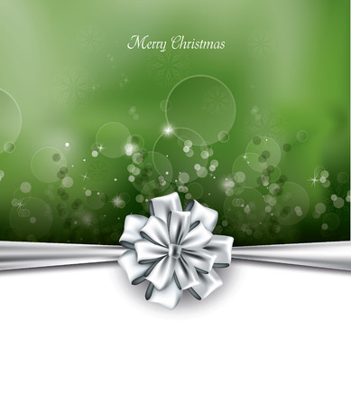 Christmas Background. Greeting Card. 矢量图像
