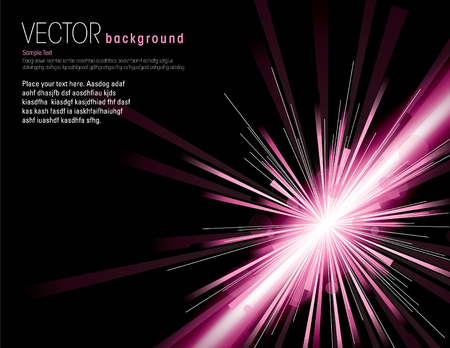 sunbeams: Abstract Vector Background. Illustration