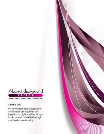 abstract pink: Abstract Vector Background. Illustration