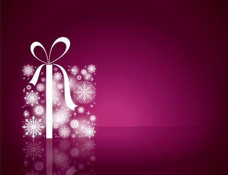 크리스마스 배경입니다. 인사말 카드입니다.
