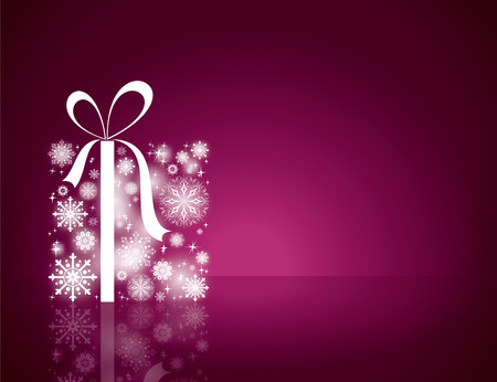 Sfondo Natale. Greeting Card. Archivio Fotografico - 44494305