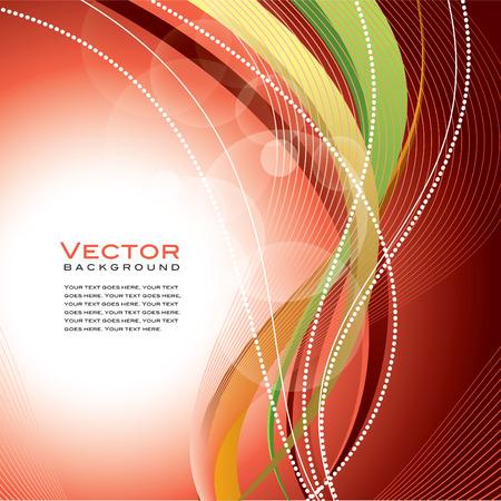 metalic: Abstract Vector Wavy Background. Illustration