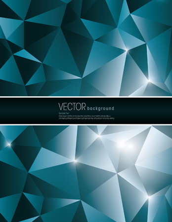 jammed: Abstract Vector Geometric Background.