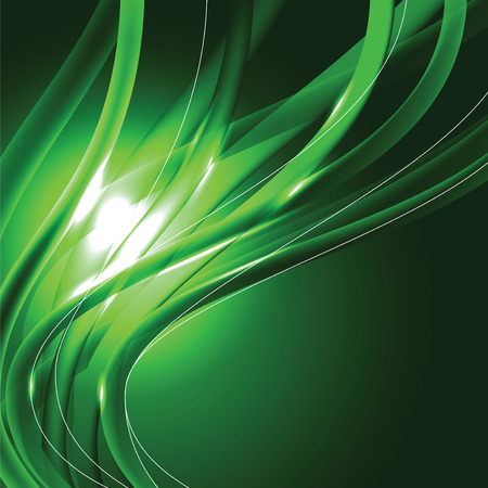 sparkly: Abstract Shiny Background. Green Sparkly Illustration.