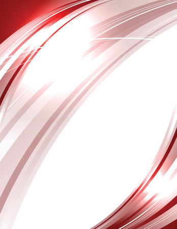 sparkly: Vector Wavy Red Background. Abstract Sparkly Illustration.