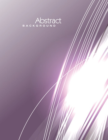 sparkly: Vector Wavy Purple Background. Abstract Sparkly Illustration.