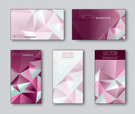 Pink Templates for Business Card.