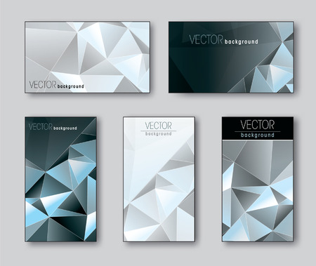 Silver Templates for Business Card.