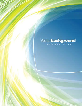 Abstract Vector Background. Colorful Shiny Illustration. Vettoriali