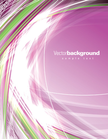 Abstract Vector Background. Pink Shiny Illustration.