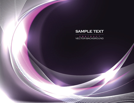 futuristic wallpaper: Abstract Vector Background. Purple Shiny Illustration. Illustration