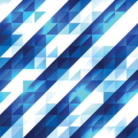 Abstract Vector Background. Geometric Shiny Illustration.