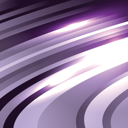 Abstract Vector Background. Purple Wavy Illustration.