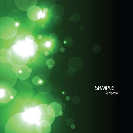 Zusammenfassung Vektor Hintergrund. Schwarze und grüne Illustration.
