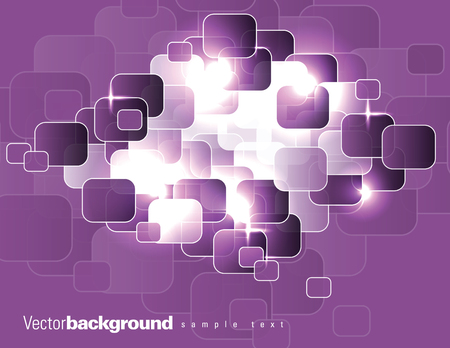 Abstract Vector Background. Purple Illustration.