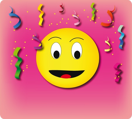 smily face: An universal smiley icon.