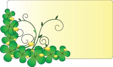 happy st  patrick s day Illustration