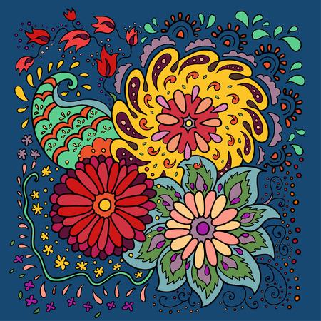 stamen: Floral background