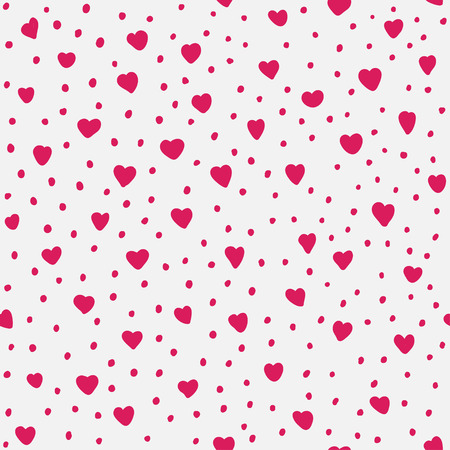 Herz-Muster Illustration